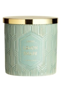 Scented Candle in Holder - pastel scented candle