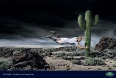 I Believe in Advertising | ONLY SELECTED ADVERTISING | Advertising Blog & Community » Land Rover: Rocks, Cactus, Hornets #advertising