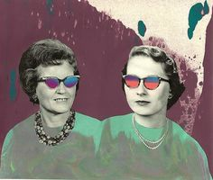 Collages por Senghye Yang | MUNDOFLANEUR.COM | MUNDOFLANEUR.COM #pop #design #retro #art #collage