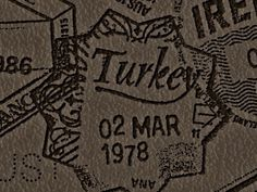 BNBehrens - Turkey #stamp #turkey #travel #bnbehrens #passport