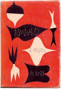 Words & Eggs #cover #book #rimbaud