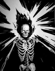 Zoom Photo #exploding #skeleton