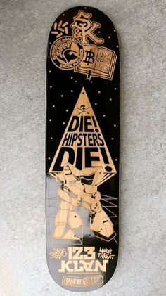 ENGRAVED BOARDS FOR AGAINST THE GRAIN SHOW on the Behance Network #die #hipsters