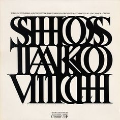 Project Thirty-Three: Shostakovitch (Command Classics, 1972) #album #william #art #1970s #shepard