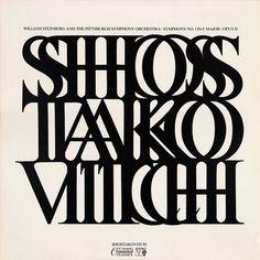 Project Thirty-Three: Shostakovitch (Command Classics, 1972) #1970s #album art #william shepard
