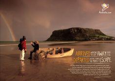 tourism australia rainbow #tourism #ad