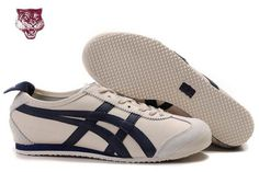 Mens Onitsuka Tiger Mexico 66 Lauta Beige-Black Shoes