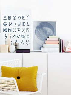 Random Inspiration 60   Architecture, Cars, Girls, Style #cushion #alphabet #prints
