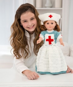 Caring Nurse Doll to Crochet – Amigurumi Patterns
