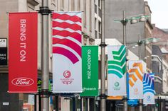 New Look of the Games for 2014 Commonwealth Games by Tangent #common #games #wealth