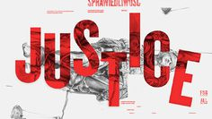 Truth vs Justice StudioKxx #type #poster