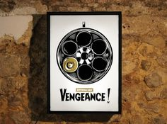 Looks like good Illustrations by SUPERBACANA #gun #superbacana #poster #vengeance #bullet