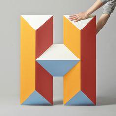 New Logo and Identity for Hemslöjden by Snask #typography
