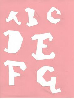 7045552417_92b4cc9123_b.jpg (762×1024) #cut #letters #red #pink #xacto #custom #type #paper #typography