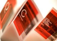 Txell Grà cia / OAC #red #design #graphic #gracia #type #txell #brochure