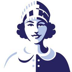 Lyons Cakes - Albert Morell Illustration #logo #logotype #branding #mark #trademark #identity #brand #logodesign #symbol #branddesign #grap