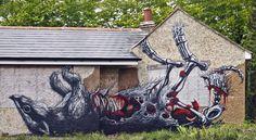 ROA Chichester Street Art Festival3_1 #roa
