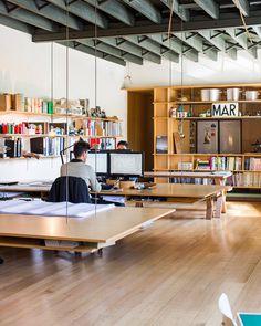 March_studiodesks #interior #office #design #desk #hanging