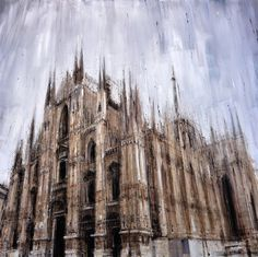 New Blurred Cityscapes by Valerio D'OspinaApril 28 #paint #architecture #surreal