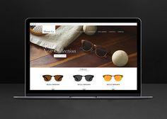 Thears Co. web design. #webdesign #shopify #sunglasses #fashion #ecommerce