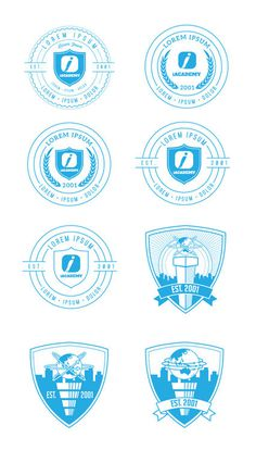 logos #badge #logos #branding #seal #circle