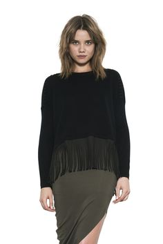 #pullover #fringe