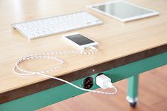 BelayCords are a reversible USB charging cable that is ultimately stylish and durable. #stylish #modern #design #table #home #reversible #product #industrial #charging