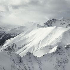 Anagrama | Winter / Alps #mountains #snow #landscapes
