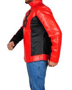 SPIDER MAN LAST STAND LEATHER JACKET