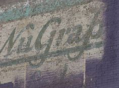 Nu-Grape by ~HauntingVisionsStock on deviantART #brick #faded #ghost #script #sign #nugrape