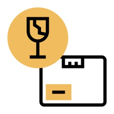 See more icon inspiration related to shipping and delivery, packaging, fragile, package, delivery, warning, box and caution on Flaticon.