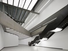 MAXXI National Museum of XXI Century Arts by Zaha Hadid #architecture #zaha hadid