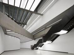 MAXXI National Museum of XXI Century Arts byZaha Hadid #hadid #zaha #architecture