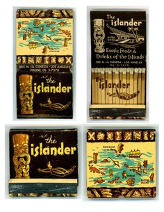 All sizes | Islander Matchbook | Flickr Photo Sharing! #matchbook