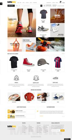 clean, simple, fashion, website