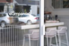 el imparcial. by Xavi Martinez #print #graphic design #logo #sign