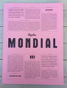 Mondial magazine from Rapha – paperposts – Medium