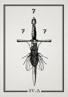 tumblr_m9idecCtQ81r7lzpno1_1280 #knife #fly #tattoo style