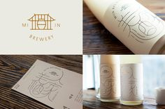 Miin Brewery wine packaging