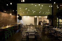 Urban Garden Restaurant in Athens artistic restaurant project