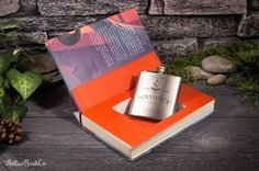 Hollow Book Safe & Polyjuice Hip Flask Harry Potter and The