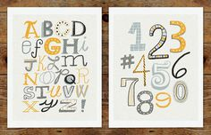 MichaelMullan_07 #lettering #letters #alphabet #art #numbers #type #typography