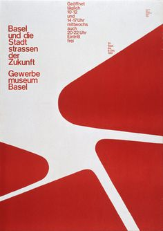 Poster by Armin Hofmann #poster #basel