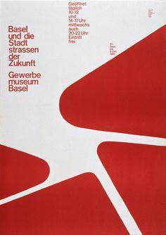 Poster by Armin Hofmann #hofmann #poster #armin