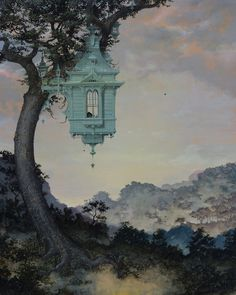 Daniel Merriam painting