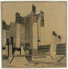 A Brief History Of Modern Architecture Through Movies Architizer #architecture #sketch #rendering #futurist #antonio santelia