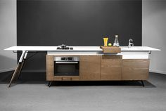 Compact Kitchen Design by Irena Kilibarda - #design, #furniture, #modernfurniture,