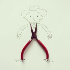 Everyday Objects Cleverly Incorporated Into Whimsical Illustrations DesignTAXI.com