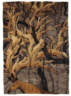 Briony May Smith illistration #illustration #deer #horns #branches