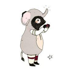 juliaPott #illustration #animals